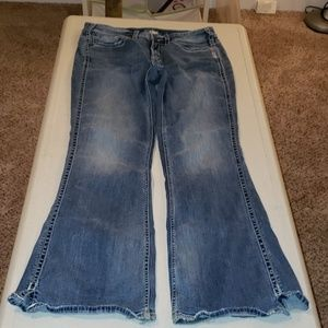 Silver Frances Flare jeans